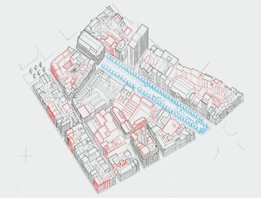 Axonométrie Bruxelles